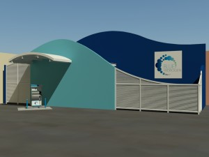 Hydrogen Station, <br />Anaheim CA