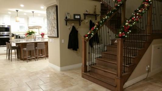 Residential_kitchen-stairwell